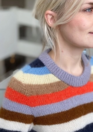 Aros Sweater Sunday & Tynn Silk Mohair | PetiteKnit Oppskrift