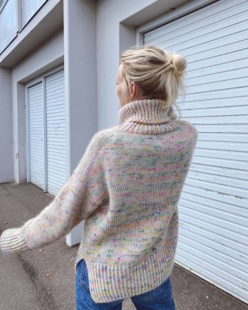Wednesday Sweater | Oppskrift Peruvian | PetiteKnit