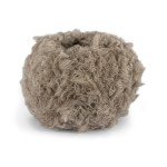 Pure eco fur beige melert