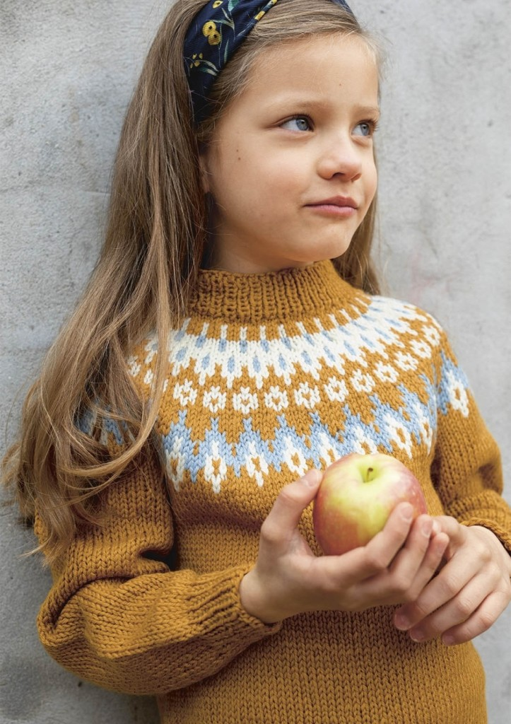 strikking genser barn
