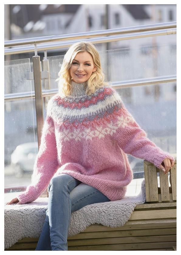 Nova genser «farmen genseren til Mia Gundersen) annen