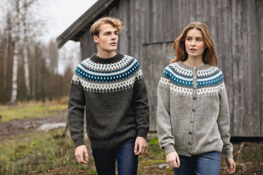 Vardejakke barn | Strikkehula.no, garn og hefter fra Sandnes