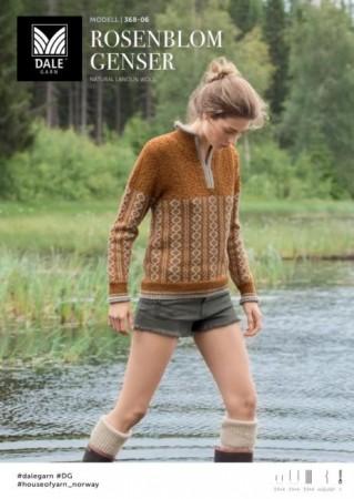 Rosenblom genser