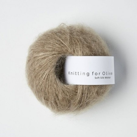 Knitting for Olive Soft Silk Mohair - Linen / Hør