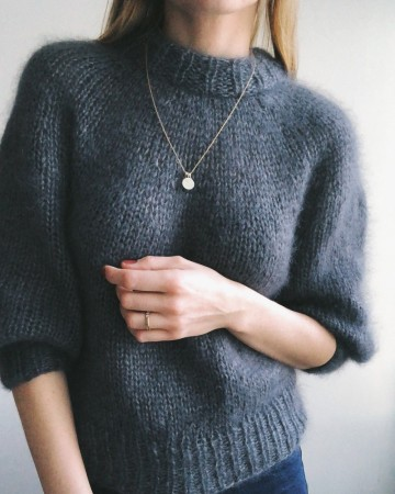 Saturday Night Sweater -Petite Knit