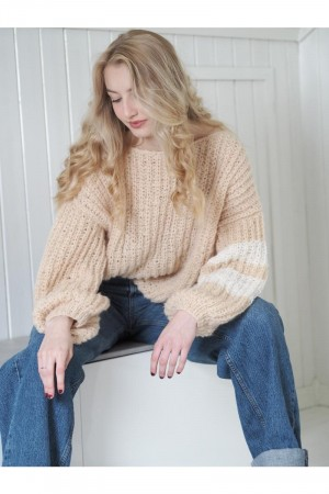 Comfy patent sweater oppskrift KNITNORWAY