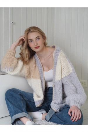 Userfriendly Cardigan Oppskrift KNITNORWAY