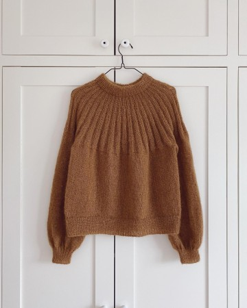 Sunday Sweater Mohair Edition | Strikkepakke | PetiteKnit