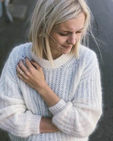 September Sweater enkeltoppskrift | Petite Knit