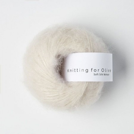 Knitting for Olive Soft Silk Mohair - Cloud / Sky