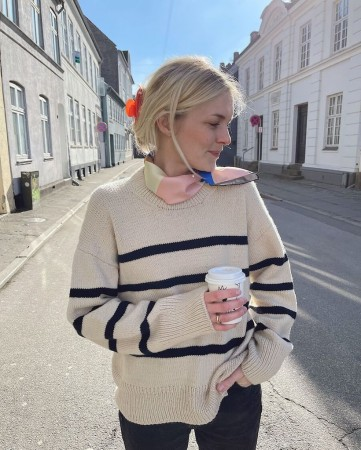 Marseille Sweater Double Sunday OPPSKRIFT Petite Knit