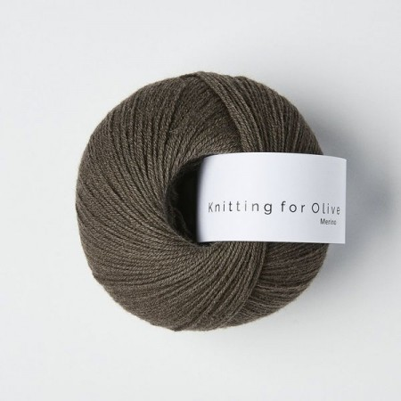 Knitting for Olive Merino - Mørk Elg / Dark Moose