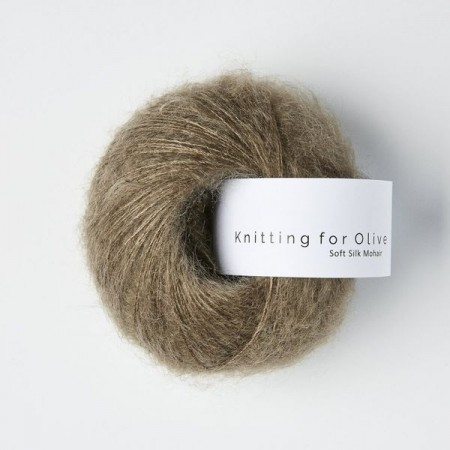 Knitting for Olive Soft Silk Mohair - Hazel / Hasselnød