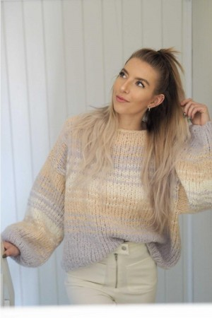 Chunky comfy sweater i Deilig Oppskrift KNITNORWAY