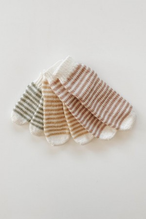 Mini Stripe Socks Oppskrift Jord Clothing